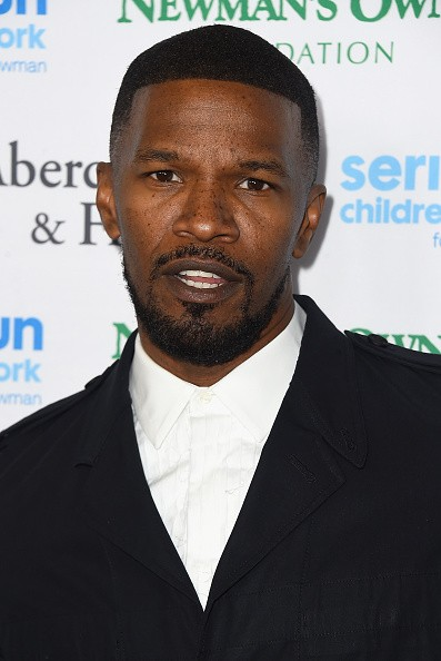 Caption:HOLLYWOOD, CA - MAY 14: Actor Jamie Foxx arrives at An Evening Of SeriousFun Celebrating The Legacy Of Paul Newman at Dolby Theatre on May 14, 2015 in Hollywood, California1nc0m1ngF1elds) (Photo by Frazer Harrison/Getty Images)
