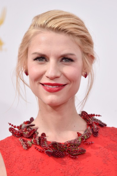 Caption:LOS ANGELES, CA - AUGUST 25: Actress Claire Danes attends the 66th Annual Primetime Emmy Awards held at Nokia Theatre L.A. Live on August 25, 2014 in Los Angeles, California. (Photo by Frazer Harrison/Getty Images)