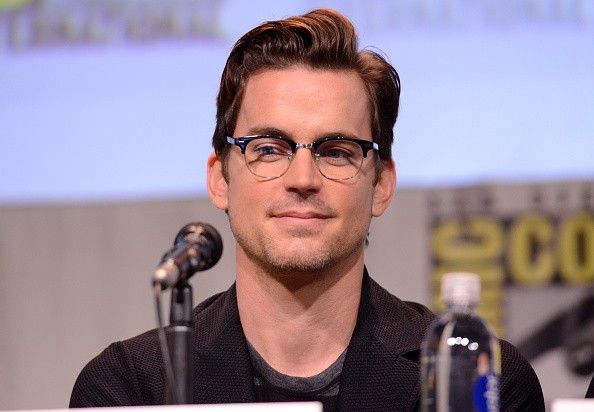 Actor Matt Bomer speaks onstage at the 'American Horror Story' and 'Scream Queens' panel during Comic-Con International 2015 at the San Diego Convention Center on July 12, 2015 in San Diego, California.