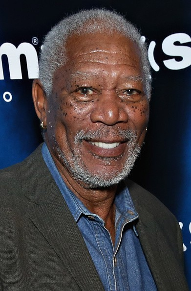 Caption:NEW YORK, NY - APRIL 30: (EXCLUSIVE COVERAGE) Actor Morgan Freeman takes part in a SiriusXM Town Hall with Morgan Freeman hosted by Entertainment Weekly writer Kyle Anderson on SiriusXM's Entertainment Weekly Radio channel at Crosby Hotel on April 30, 2015 in New York City. (Photo by Cindy Ord/Getty Images for SiriusXM)