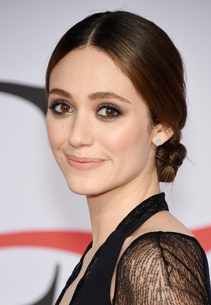 Caption:NEW YORK, NY - JUNE 01: Actress Emmy Rossum attends the 2015 CFDA Fashion Awards at Alice Tully Hall at Lincoln Center on June 1, 2015 in New York City. (Photo by Dimitrios Kambouris/Getty Images)