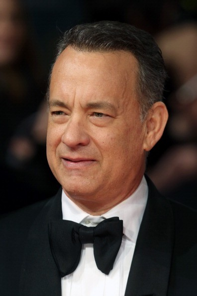 Actor Tom Hanks attends the EE British Academy Film Awards 2014 at The Royal Opera House on February 16, 2014 in London, England.
