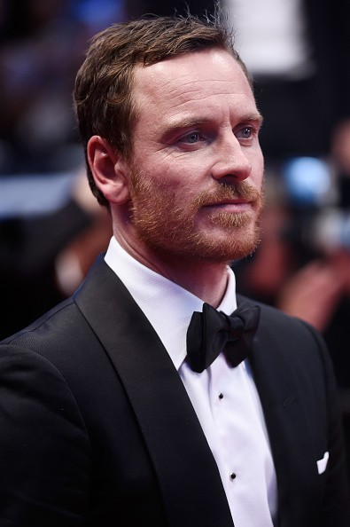 Caption:CANNES, FRANCE - MAY 23: Actors Michael Fassbender leaves the Premiere of 'Macbeth' during the 68th annual Cannes Film Festival on May 23, 2015 in Cannes, France. (Photo by Ian Gavan/Getty Images)
