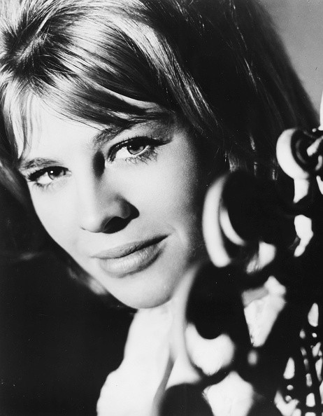 Studio headshot of actress Julie Christie, as she appears in the film 'Billy Liar', 1963.