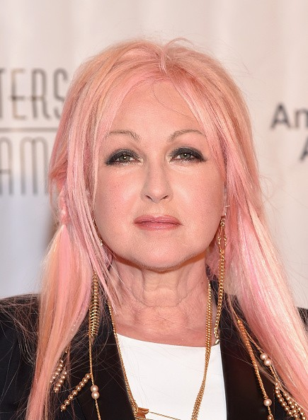 Caption:NEW YORK, NY - JUNE 18: Singer Cyndi Lauper attends the Songwriters Hall Of Fame 46th Annual Induction And Awards at Marriott Marquis Hotel on June 18, 2015 in New York City. (Photo by Michael Loccisano/Getty Images for Songwriters Hall Of Fame)
