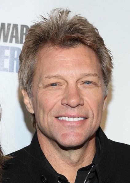 Caption:NEW YORK, NY - JANUARY 31: Jon Bon Jovi attends SiriusXM's 'Howard Stern Birthday Bash' at Hammerstein Ballroom on January 31, 2014 in New York City. (Photo by Rob Kim/Getty Images)