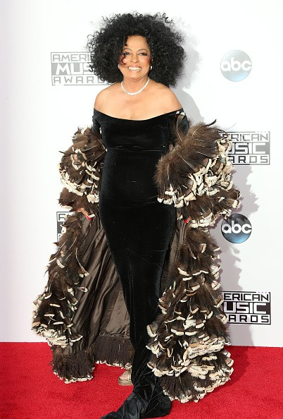 Credit: Frederick M. Brown / Stringer Caption:LOS ANGELES, CA - NOVEMBER 23: Singer Diana Ross attends the 42nd Annual American Music Awards at the Nokia Theatre L.A. Live on November 23, 2014 in Los Angeles, California. (Photo by Frederick M. Brown/Getty Images)