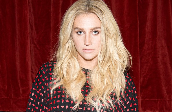 Caption:NEW YORK, NY - FEBRUARY 13: Recording artist Kesha attends the Edie Parker presentation during Mercedes-Benz Fashion Week Fall 2015 on February 13, 2015 in New York City. (Photo by Noam Galai/Getty Images)