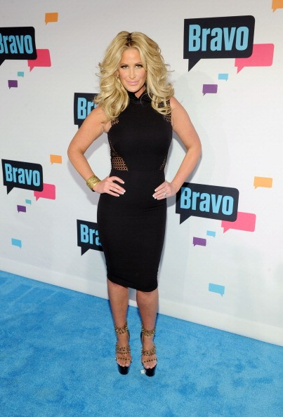 Caption:NEW YORK, NY - APRIL 03: Kim Zolciak attends the 2013 Bravo New York Upfront at Pillars 37 Studios on April 3, 2013 in New York City. (Photo by Craig Barritt/Getty Images)