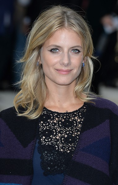 Caption:LONDON, ENGLAND - SEPTEMBER 21: Melanie Laurent attends the Burberry Prorsum show during London Fashion Week Spring/Summer 2016/17 on September 21, 2015 in London, England. (Photo by Anthony Harvey/Getty Images)