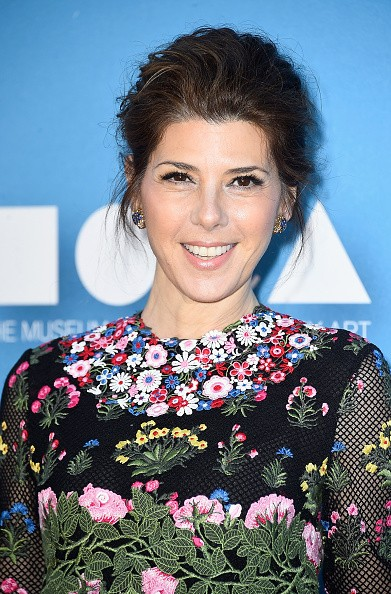 Caption:LOS ANGELES, CA - MAY 30: Actress Marisa Tomei attends the 2015 MOCA Gala presented by Louis Vuitton at The Geffen Contemporary at MOCA on May 30, 2015 in Los Angeles, California. (Photo by Donato Sardella/WireImage for The Museum Of Contemporary Art, Los Angeles (MOCA)) (Photo by Frazer Harrison/Getty Images)