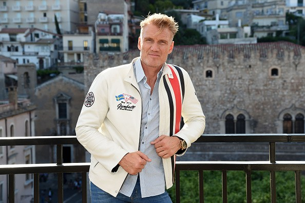 Dolph Lundgren attends Day 6 of the 61st Taormina Film Fest on June 18, 2015 in Taormina, Italy.