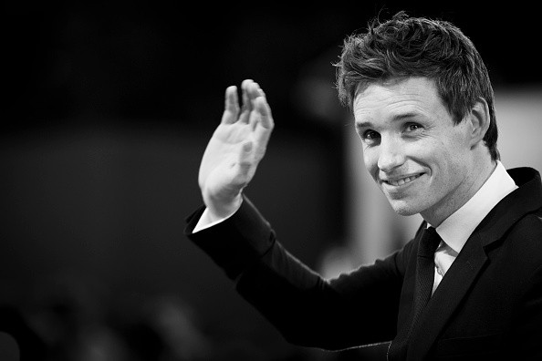 An alternative view of Eddie Redmayne at the premiere of 'The Danish Girl' during the 72nd Venice Film Festival at Sala Grande on September 5, 2015 in Venice, Italy.
