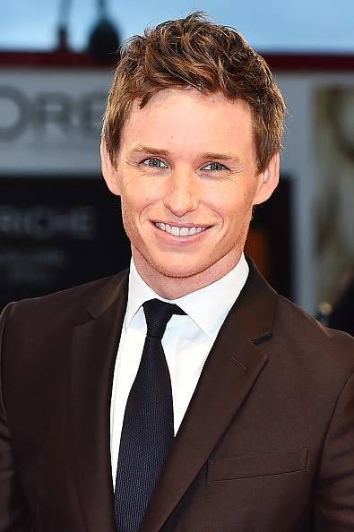 Eddie Redmayne attends a premiere for 'A Danish Girl' during the 72nd Venice Film Festival at on September 5, 2015 in Venice, Italy.