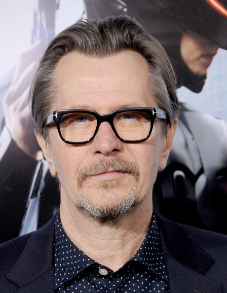 Actor Gary Oldman arrives at the Los Angeles premiere of 'Robocop' at TCL Chinese Theatre on February 10, 2014 in Hollywood, California.