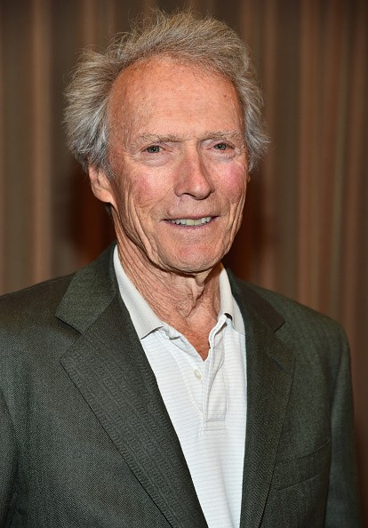 "Caption:LAS VEGAS, NV - APRIL 22: Recipient of the Fandango Fan Choice award for Favorite Film of 2014, 'American Sniper,' Clint Eastwood attends CinemaCon and Warner Bros. Pictures Present ""The Legend of Cinema Luncheon: A Salute to Clint Eastwood"" at Caesars Palace during CinemaCon, the official convention of the National Association of Theatre Owners, on April 22, 2015 in Las Vegas, Nevada. (Photo by Alberto E. Rodriguez/Getty Images for CinemaCon)"