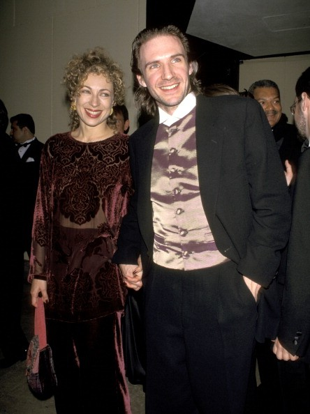 Ralph Fiennes and Wife Alex Kingston during 49th Annual Tony Awards - After Parties at Sardi's Restaurant & Marriott Marquis in New York City, New York, United States.