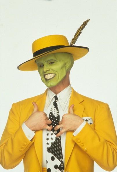Jim Carrey publicity portrait for the film 'The Mask', 1994.