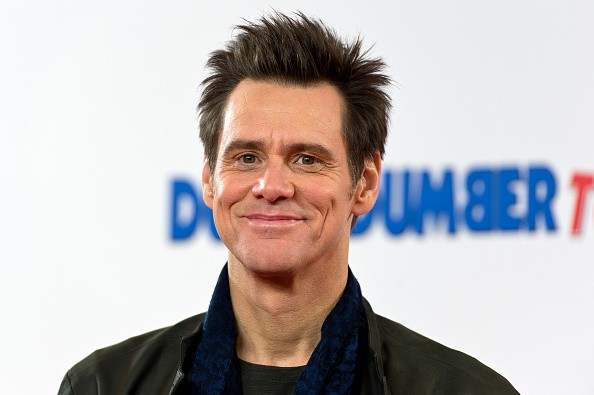 Jim Carrey attends a photocall for 'Dumb and Dumber To' on November 20, 2014 in London, England.