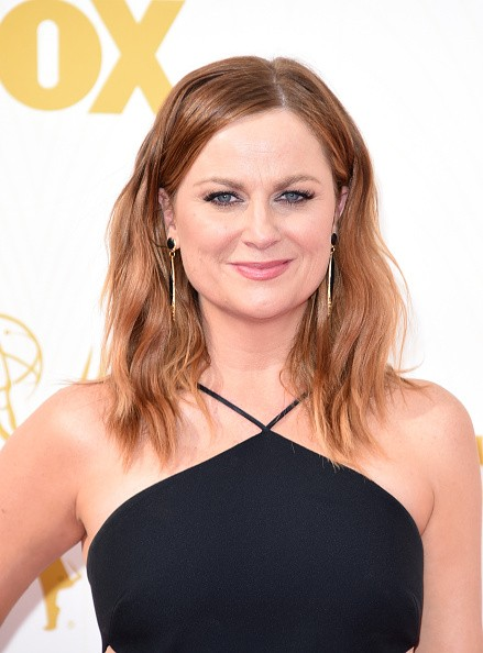 Caption:LOS ANGELES, CA - SEPTEMBER 20: Actress Amy Poehler attends the 67th Annual Primetime Emmy Awards at Microsoft Theater on September 20, 2015 in Los Angeles, California. (Photo by Jason Merritt/Getty Images)