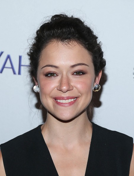 Caption:NEW YORK, NY - OCTOBER 18: Tatiana Maslany attends a screening of 'Orphan Black' during PaleyFest New York 2015 at The Paley Center for Media on October 18, 2015 in New York City. (Photo by Rob Kim/Getty Images)