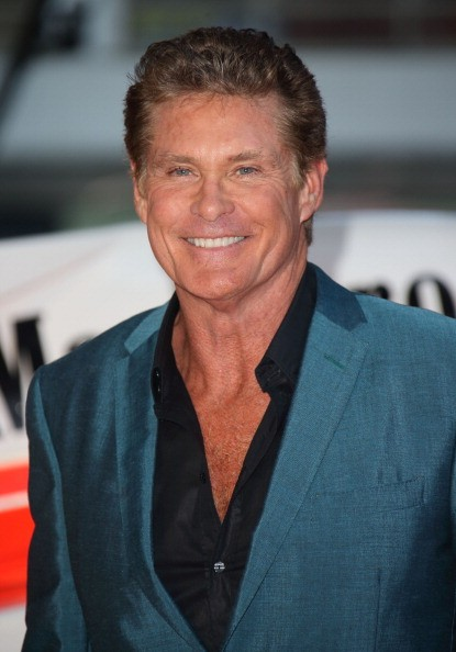 David Hasselhoff attends the World Premiere of 'Rush' at Odeon Leicester Square on September 2, 2013 in London, England.
