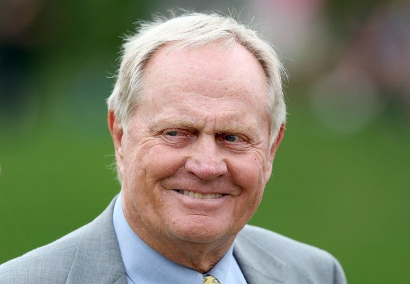 Jack Nicklaus is pictured during the final round of the Memorial Tournament presented by Nationwide Insurance at Muirfield Village Golf Club on June 2, 2013 in Dublin, Ohio.
