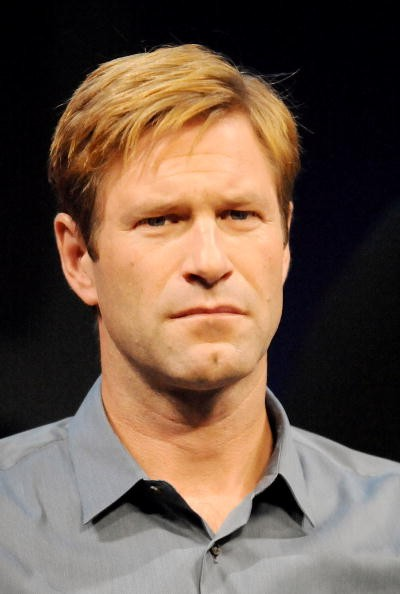 Actor Aaron Eckhart attends 'The Dark Knight' press conference at the Grand Hyatt Tokyo on July 29, 2008 in Tokyo, Japan. The film will open on August 9 in Japan.