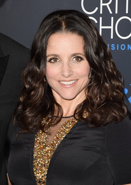 Caption:BEVERLY HILLS, CA - MAY 31: Actress Julia Louis-Dreyfus attends the 5th Annual Critics' Choice Television Awards at The Beverly Hilton Hotel on May 31, 2015 in Beverly Hills, California. (Photo by Jason Merritt/Getty Images)