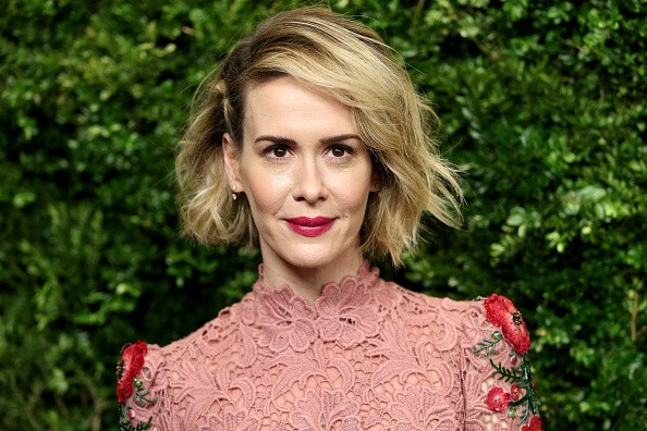 Caption:NEW YORK, NY - NOVEMBER 17: Actress Sarah Paulson attends the Museum of Modern Art's 8th Annual Film Benefit Honoring Cate Blanchett at the Museum of Modern Art on November 17, 2015 in New York City. (Photo by Neilson Barnard/Getty Images)
