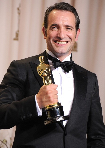 Jean Dujardin at the 84th Annual Academy Awards at Grauman's Chinese Theatre on February 26, 2012 in Hollywood, California.