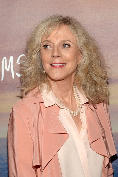 Caption:NEW YORK, NY - MAY 11: Actress Blythe Danner attends the 'I'll See You In My Dreams' New York Screening at Tribeca Grand Screening Room on May 11, 2015 in New York City. (Photo by Ben Gabbe/Getty Images)