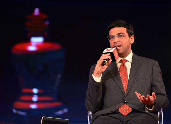 India chess Champion Viswanathan Anand at India today Conclave 2015.