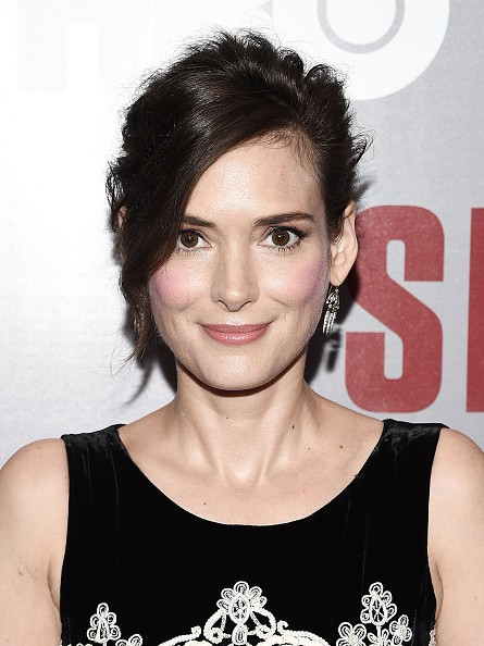 Caption:NEW YORK, NY - AUGUST 11: Actress Winona Ryder attends the 'Show Me A Hero' New York screening at The New York Times Center on August 11, 2015 in New York City. (Photo by Andrew H. Walker/Getty Images)