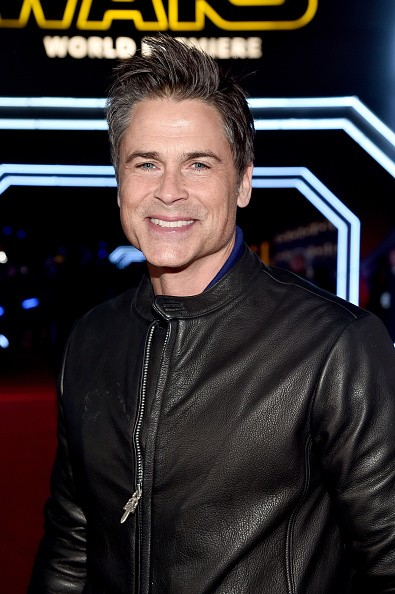 """Caption:HOLLYWOOD, CA - DECEMBER 14: Actor Rob Lowe attends the World Premiere of """"Star Wars: The Force Awakens"""" at the Dolby, El Capitan, and TCL Theatres on December 14, 2015 in Hollywood, California. (Photo by Alberto E. Rodriguez/Getty Images for Disney)"""