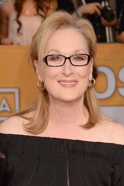 Actress Meryl Streep attends the 20th Annual Screen Actors Guild Awards at The Shrine Auditorium on January 18, 2014 in Los Angeles, California.