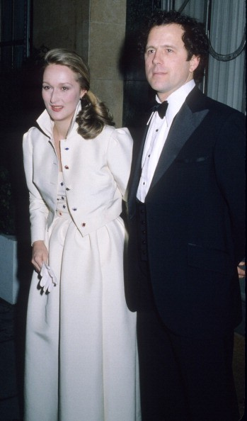 Meryl Streep and husband Don Gummer during Meryl Streep Sighting in London - March 25, 1980 at Claridges Hotel in London, Great Britain.