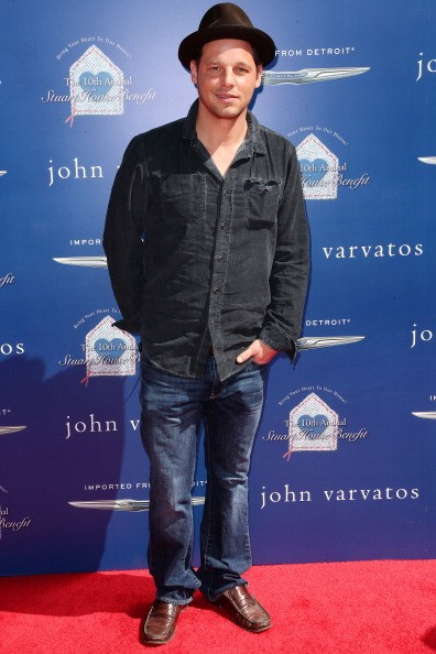 Caption:LOS ANGELES, CA - MARCH 10: Actor Justin Chambers attends John Varvatos 10th Annual Stuart House Benefit Presented by Chrysler, at John Varvatos Los Angeles on March 10, 2013 in Los Angeles, California. (Photo by Frederick M. Brown/Getty Images)
