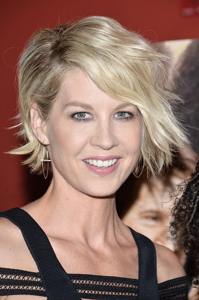 Caption:NEW YORK, NY - SEPTEMBER 24: Actress Jenna Elfman attends the 'Big Stone Gap' New York screening at Sunshine Landmark on September 24, 2015 in New York City. (Photo by Grant Lamos IV/Getty Images)