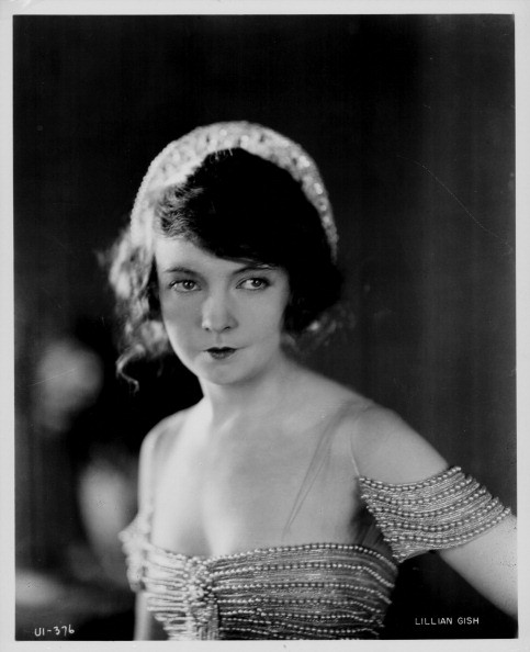 Portrait of actress Lillian Gish, circa 1920-1930.