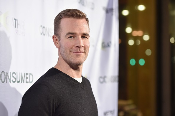 Caption:BEVERLY HILLS, CA - NOVEMBER 11: Actor James Van Der Beek attends the Los Angeles premiere of Mister Lister Films' 'Consumed' at Laemmle Music Hall on November 11, 2015 in Beverly Hills, California. (Photo by Alberto E. Rodriguez/Getty Images)