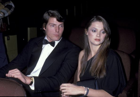 Christopher Reeve and Gae Exton during 'Superman' New York City Premiere at Loews Astor Plaza Theater in New York City, New York, United States.