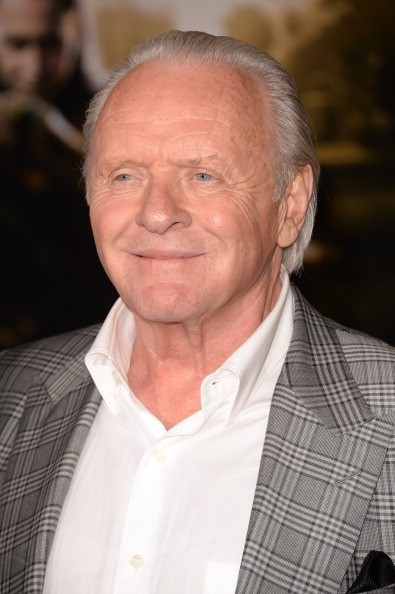 Actor Anthony Hopkins arrives at the premiere of Marvel's 'Thor: The Dark World' at the El Capitan Theatre on November 4, 2013 in Hollywood, California.