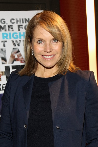 Caption:NEW YORK, NY - NOVEMBER 19: Journalist Katie Couric attends AOL's MAKERS: Once And For All Premiere at the DOC NYC on November 19, 2015 in New York City. (Photo by Bennett Raglin/Getty Images for AOL)