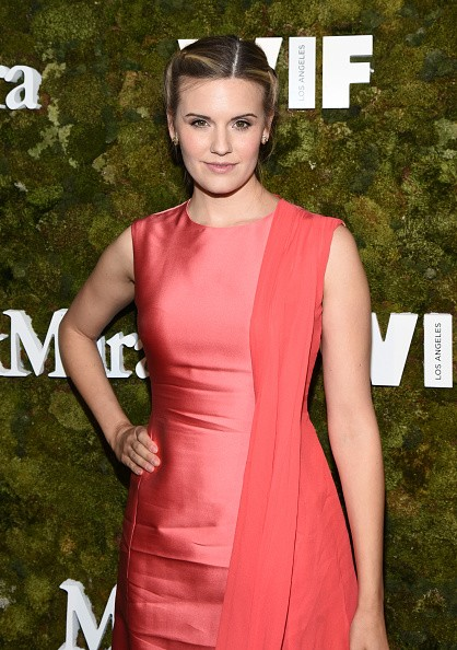 Caption:WEST HOLLYWOOD, CA - JUNE 15: Actress Maggie Grace, wearing Max Mara, attends The Max Mara 2015 Women In Film Face Of The Future event at Chateau Marmont on June 15, 2015 in West Hollywood, California. (Photo by Michael Buckner/Getty Images for Max Mara)