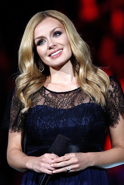 Caption:WASHINGTON, DC - MAY 23: Classical cross-over artist Katherine Jenkins performs at the 26th National Memorial Day Concert Rehearsals on May 23, 2015 in Washington, DC. (Photo by Paul Morigi/Getty Images for Capitol Concerts)