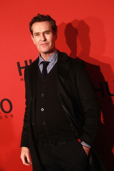 Caption:BERLIN, GERMANY - JANUARY 19: Rupert Everett attends the Hugo by Hugo Boss Autumn/Winter 2012 fashion show during Mercedes-Benz Fashion Week Berlin at Gemaldegalerie on January 19, 2012 in Berlin, Germany. (Photo by Sean Gallup/Getty Images)