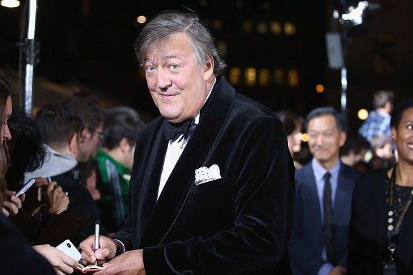 Caption:ZURICH, SWITZERLAND - SEPTEMBER 24: Actor/writer Stephen Fry attends the 'The Man Who Knew Infinity' Premiere And Opening Ceremony during the Zurich Film Festival on September 24, 2015 in Zurich, Switzerland. The 11th Zurich Film Festival will take place from September 23 until October 4. (Photo by Andreas Rentz/Getty Images)