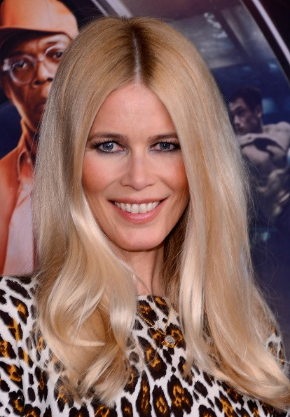 Caption:NEW YORK, NY - FEBRUARY 09: Claudia Schiffer attends 'Kingsman: The Secret Service' New York Premiere at SVA Theater on February 9, 2015 in New York City. (Photo by Stephen Lovekin/Getty Images)