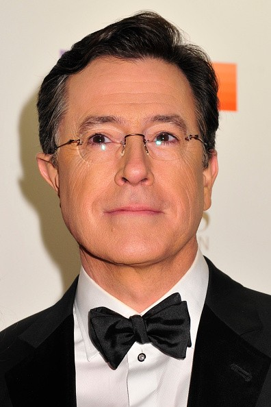 Caption:WASHINGTON, DC - DECEMBER 06: Host Stephen Colbert arrives at the 38th Annual Kennedy Center Honors Gala at the Kennedy Center for the Performing Arts on December 6, 2015 in Washington, DC. (Kris Connor/Getty Images)